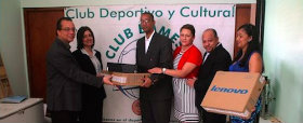 RSC Team  of Dominican Republic donated equipment to Club Bameso