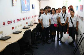 El Salvador supports Project for your people education